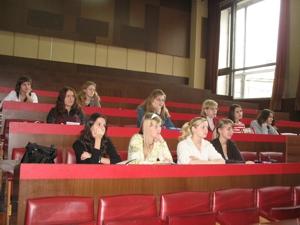 Студенты УрАГС на презентации системы ГАРАНТ