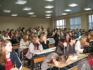 Студенты УрГЭУ на презентации системы ГАРАНТ