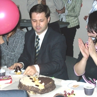 Торт в честь 5-летия Отдела поддержки клиентов