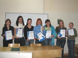 Победители Олимпиады-Гарантиады в Гуманитарном институте