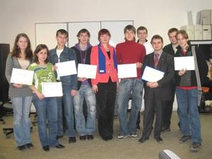 Вручение сертификатов студентам УрГЮА