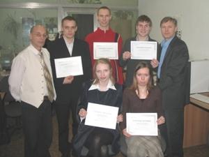 Вручение сертификатов студентам-выпускникам УГТУ-УПИ
