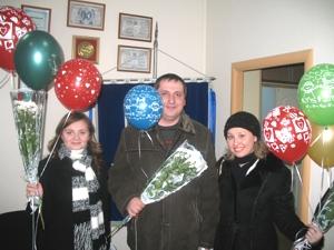 Букеты цветов и шары - как благодарность клиентам