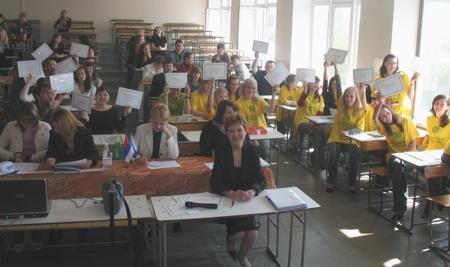 Студенты, награжденные серебряными сертификатами пользователя СПС ГАРАНТ